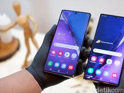 Harga Galaxy Note 20 dan Galaxy Note 20 Ultra di Indonesia