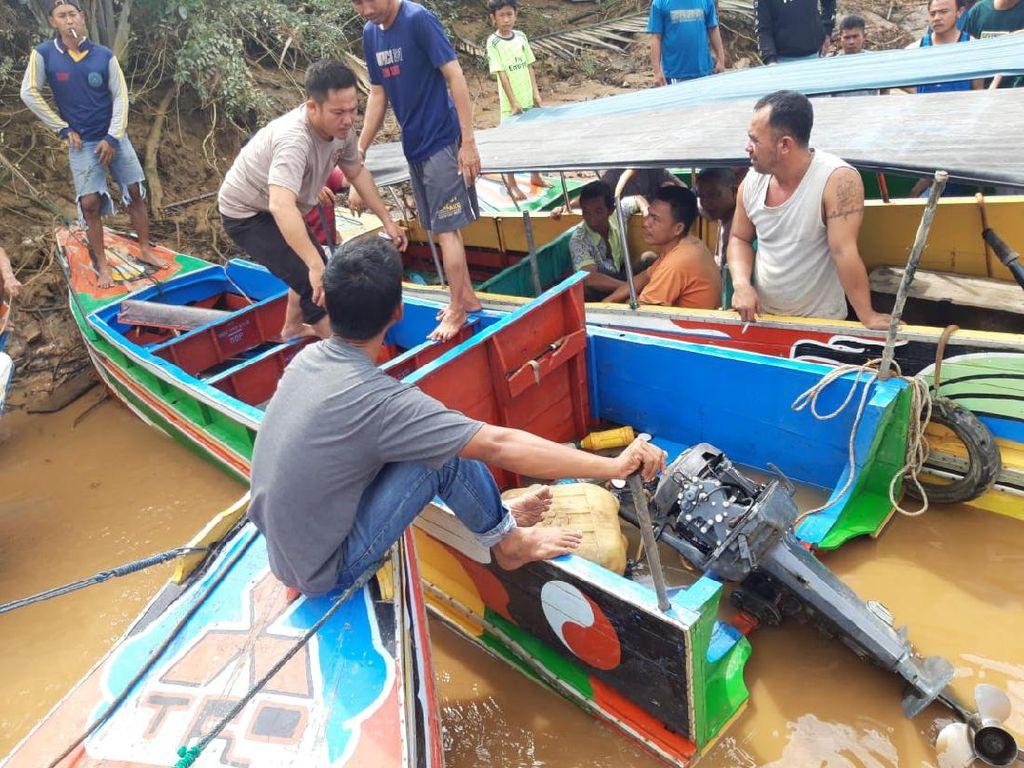 Kecelakaan Speedboat di Sungai Musi, 4 Orang Hilang