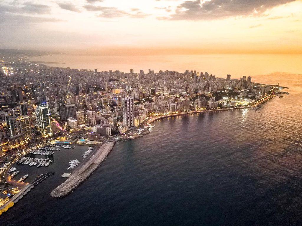Foto: Beirut yang Cantik, Beirut yang Berduka