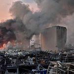 Ledakan Hebat Guncang Beirut, MU Kirim Pesan Simpati
