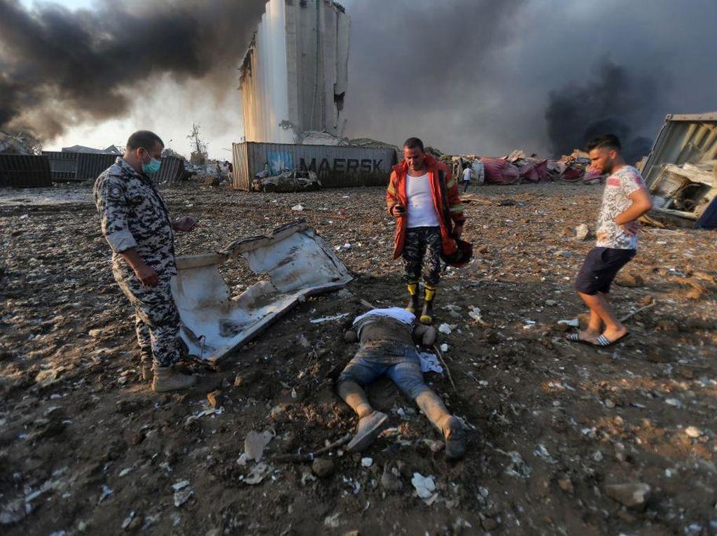 Korban Tewas Ledakan Besar Beirut Bertambah Jadi 73 Orang, Luka-luka 3.700