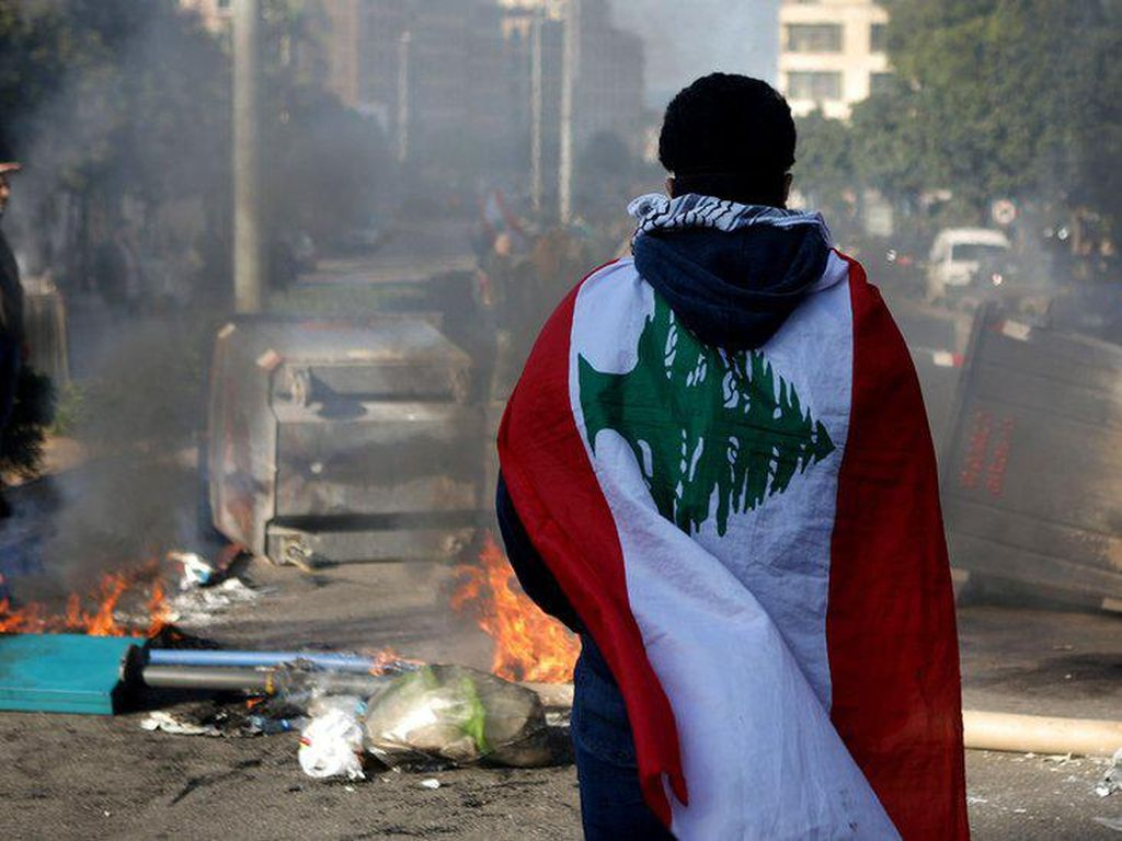 Kondisi Sulit Warga Beirut Pascaledakan Dahsyat di Lebanon