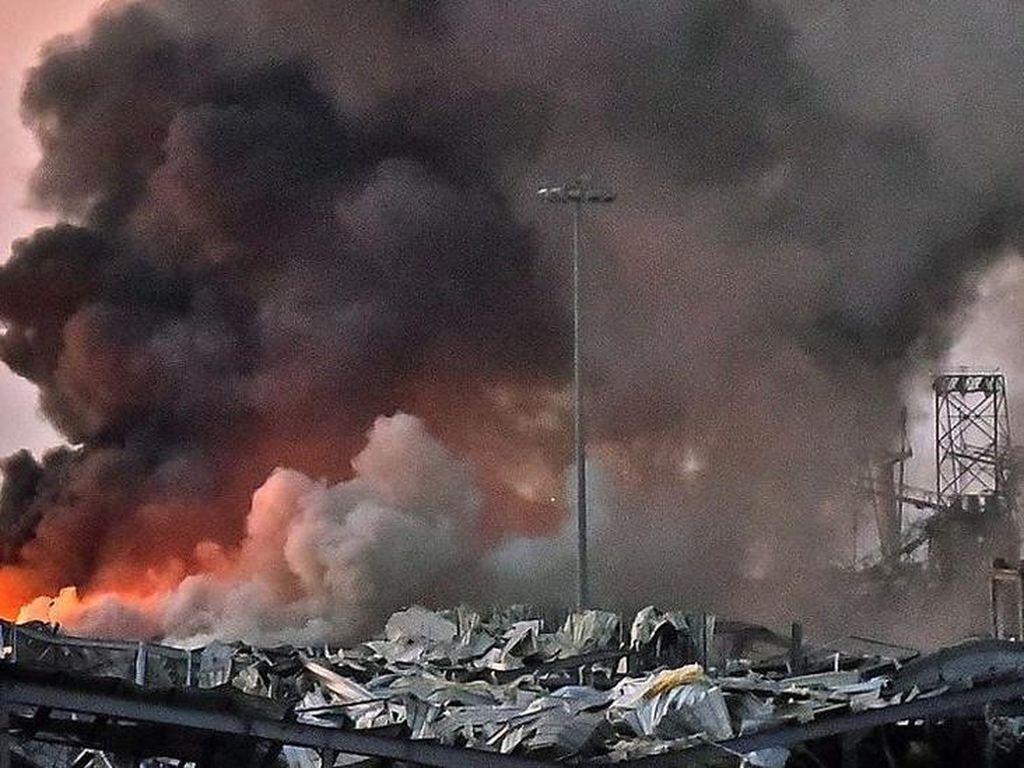 Soal Amonium Nitrat dan Penyebab Ledakan Besar di Beirut, Lebanon