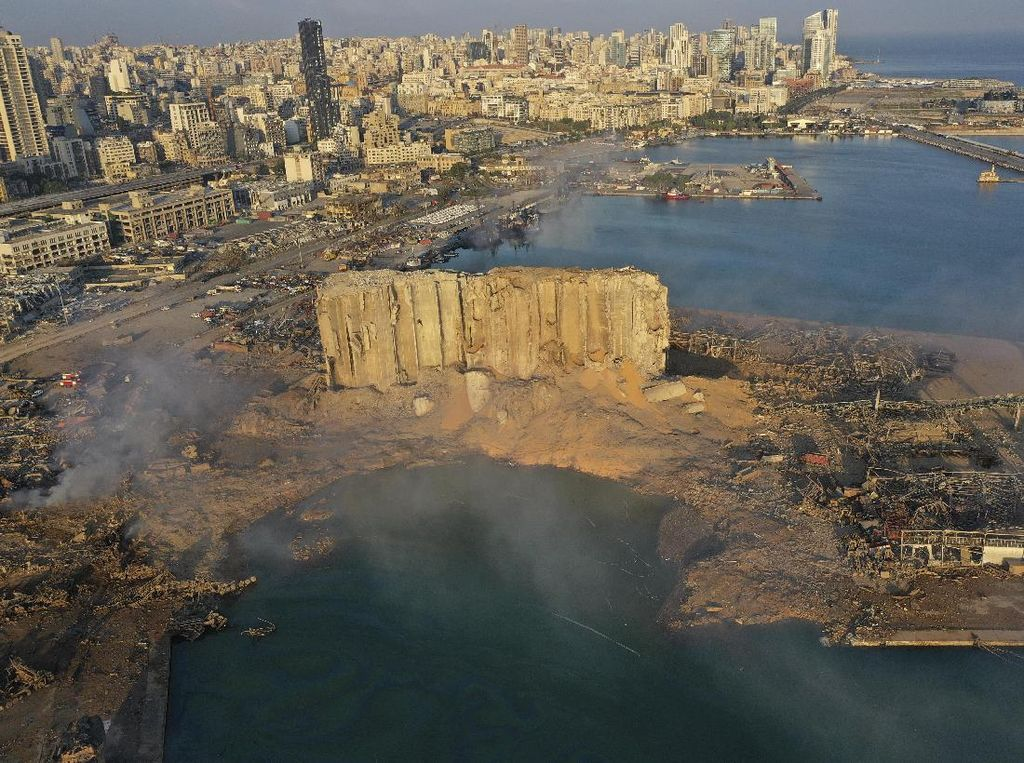PBB: 178 Orang Tewas Akibat Ledakan di Lebanon, 30 Hilang