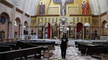 Masjid hingga Gereja Jadi Korban Ledakan di Lebanon