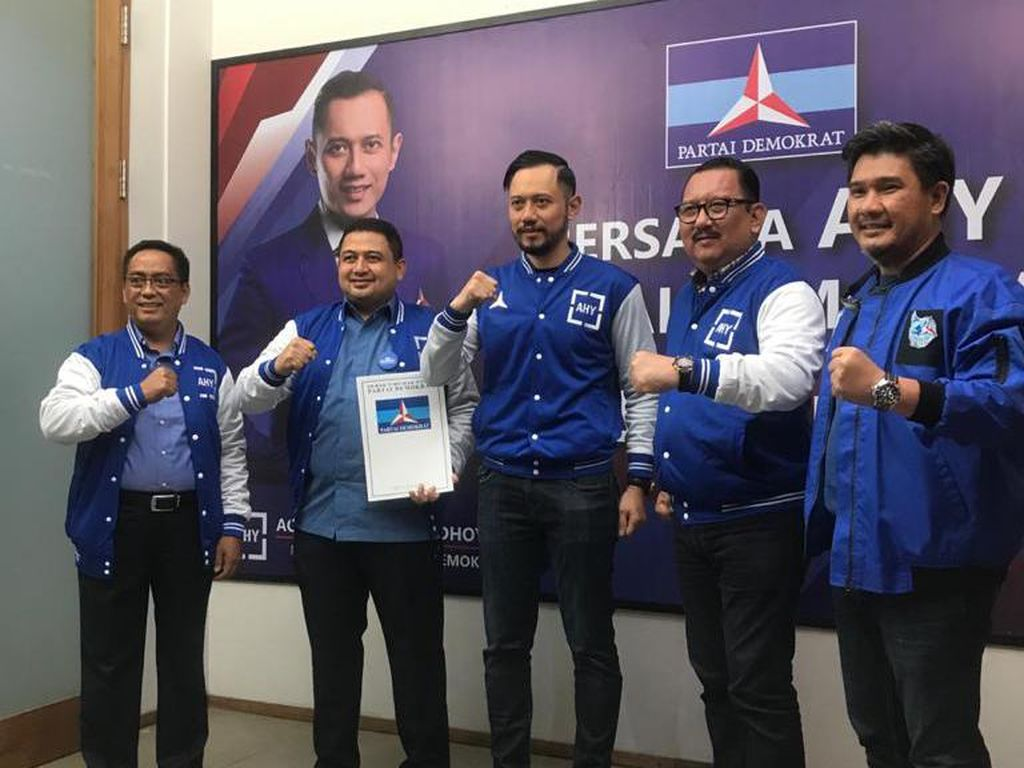 Sah! Demokrat Dukung Appi-ARB di Pilwakot Makassar 2020