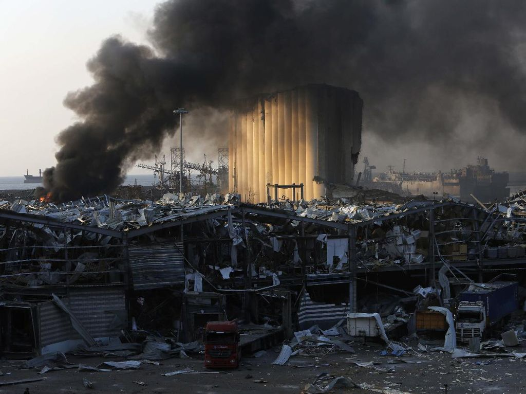Amonium Nitrat Diduga Jadi Penyebab Ledakan Besar di Lebanon, Apa Itu?