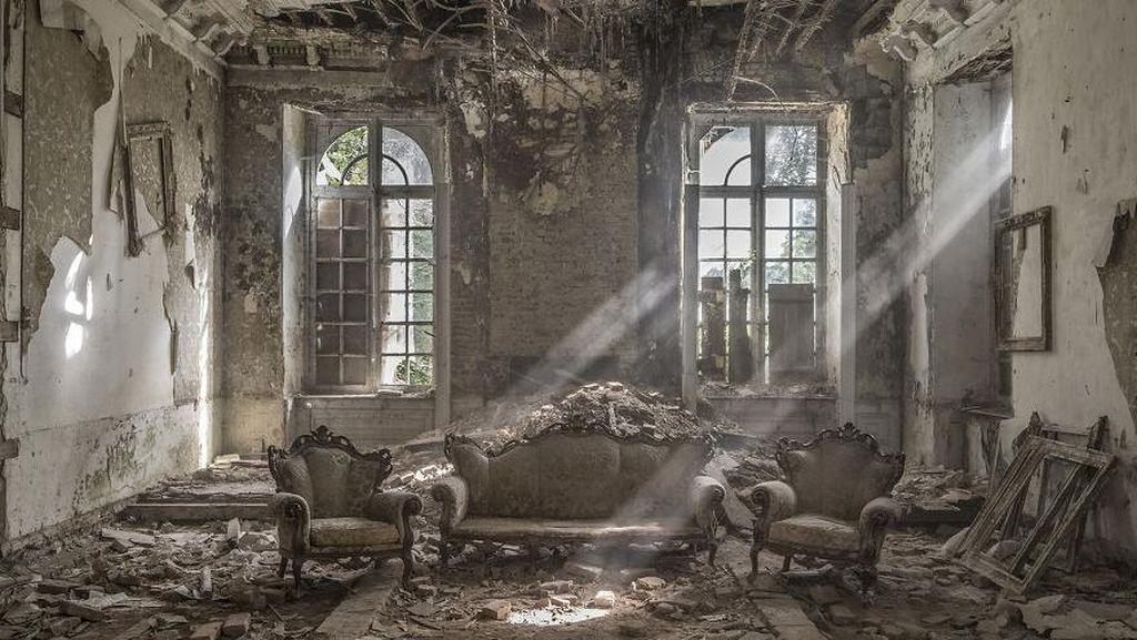 Potret Menakjubkan Tempat Terbengkalai di Eropa