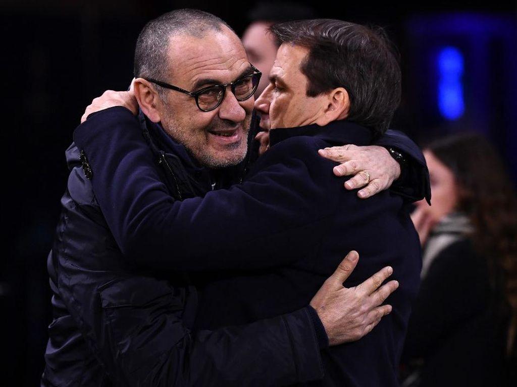 Jelang Juventus Vs Lyon: Rudi Garcia Belum Kalah dari Sarri