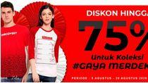 Yuk Tampil Kece Lewat Chat & Shop di Transmart Department Store