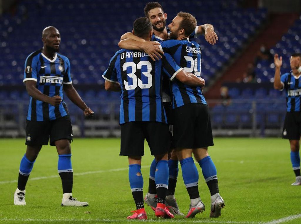 Video Inter Vs Getafe, Si Ular Raksasa Meliuk ke Perempatfinal
