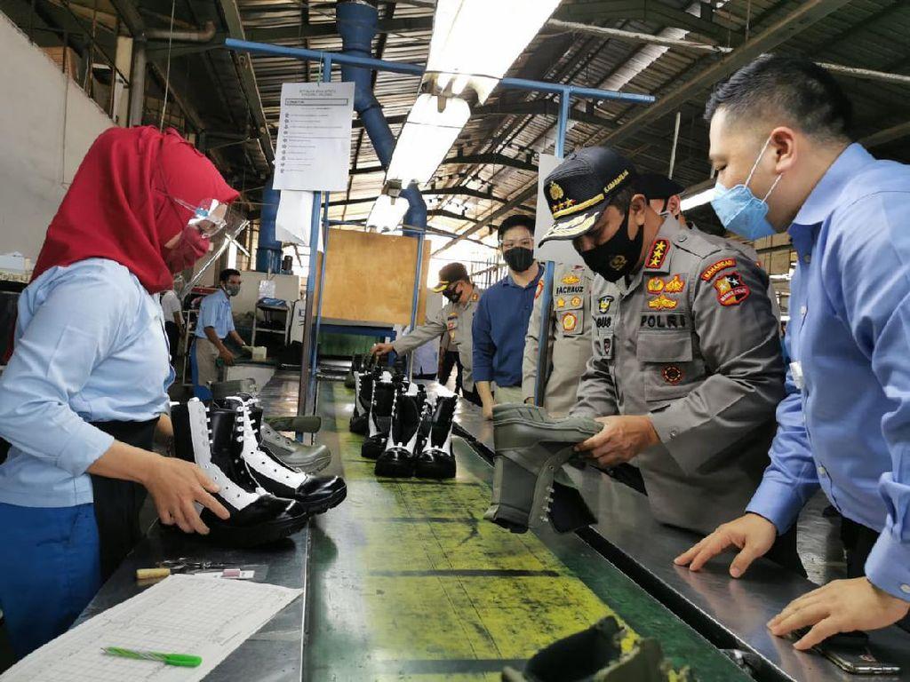 Bantu Pulihkan Ekonomi Nasional, Polri Pesan Produk Dalam Negeri