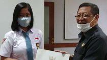 Dhea Lukita, Pelajar Asal Tulungagung Dua Kali Terpilih Jadi Paskibraka di Istana
