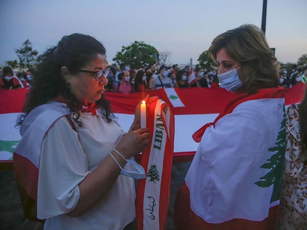 Doa untuk Korban Ledakan Lebanon