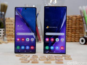Menggenggam Galaxy Note 20 dan Note 20 Ultra Harga Belasan Juta