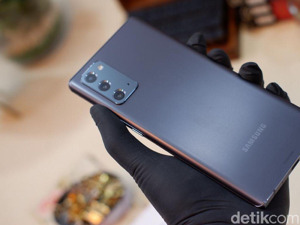 Menggenggam Galaxy Note 20 dan Galaxy Note 20 Ultra!