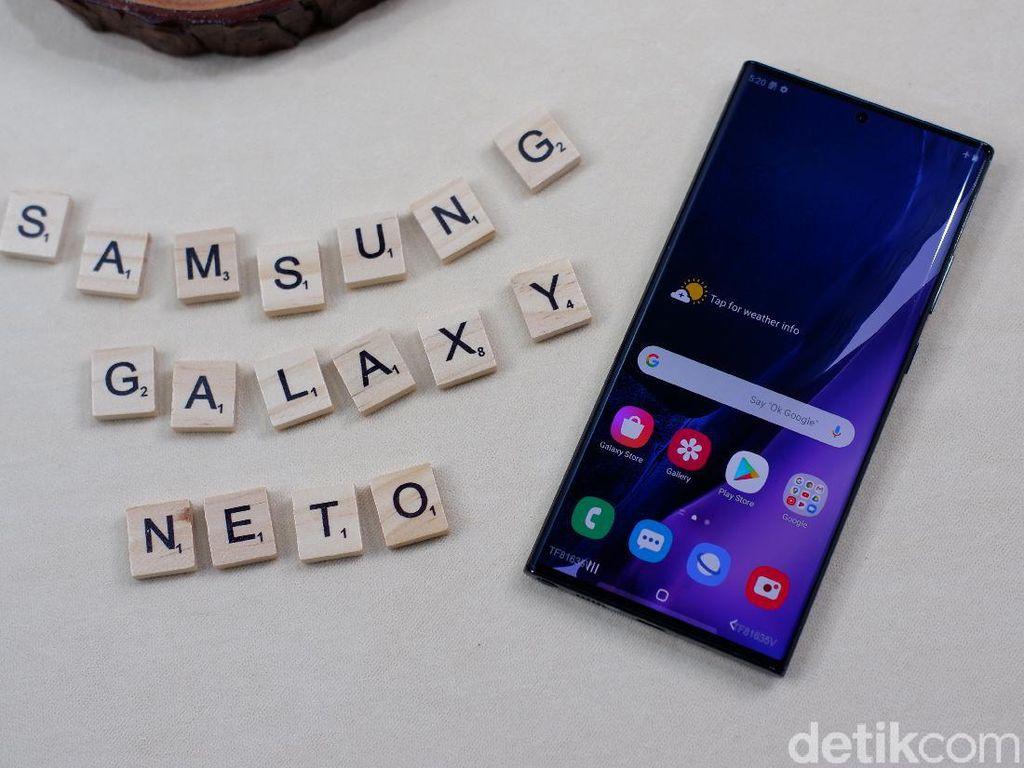 Galaxy Note 20 Ultra Bawa Teknologi Layar Baru