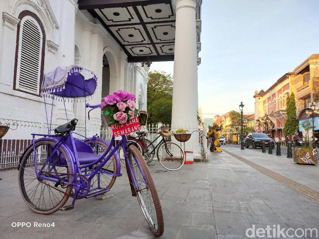 Cantiknya Kota Lama Semarang Dipotret Pakai Oppo Reno4