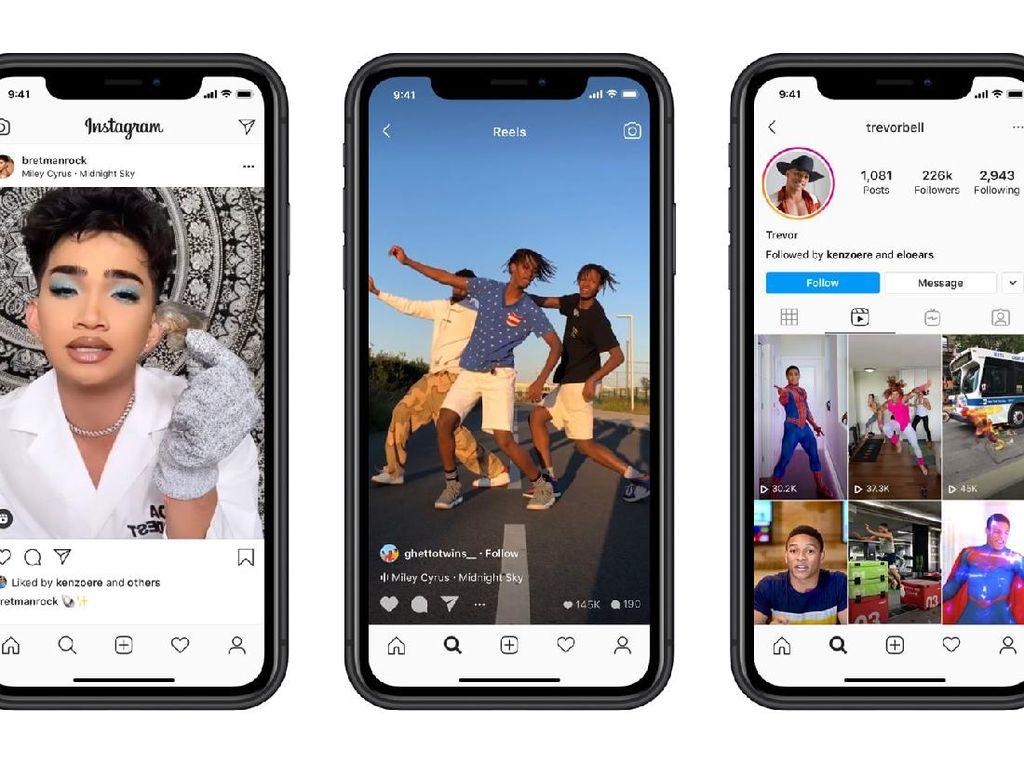 Instagram Buat Fitur Audio Reels Mirip TikTok
