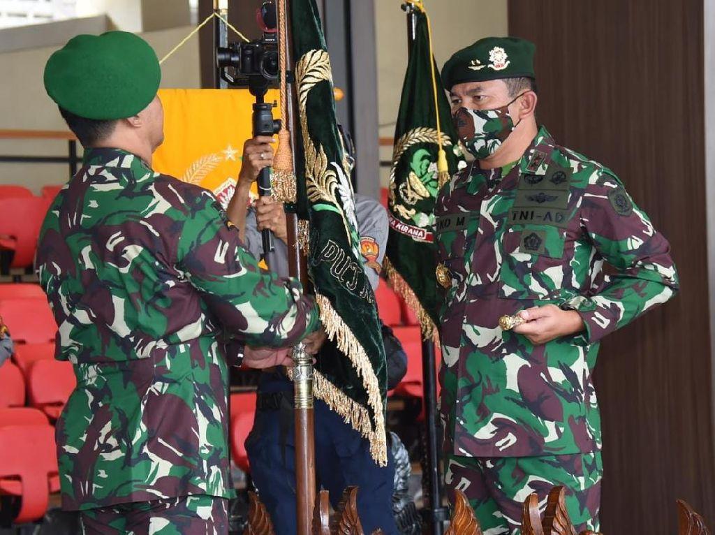 KSAD Jenderal Andika Pimpin Sertijab Pangkostrad-Pangdam Jaya