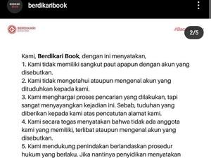 Berdikari Book Cerita Didatangi Aparat Gegara Dicatut Akun Hina TNI