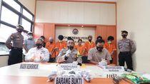Simpan Sabu dalam Anus, 5 Kurir Narkoba di Kepri Ditangkap Polisi