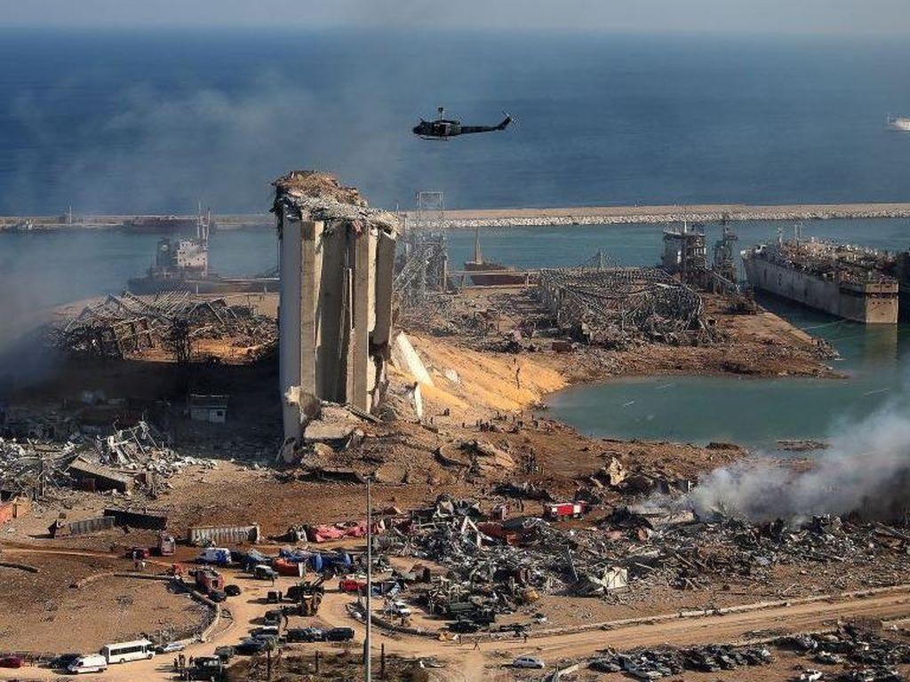 Fakta-fakta Ledakan di Lebanon yang Tewaskan 135 Orang