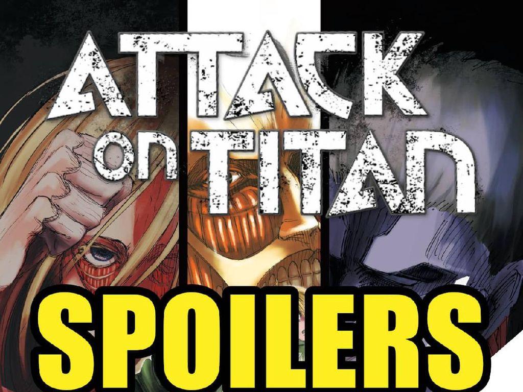 Makin Rumit, Manga Attack on Titan Menuju Akhir