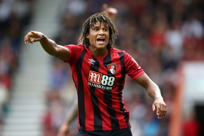 BOURNEMOUTH, ENGLAND - AUGUST 10: Nathan Ake of AFC Bournemouth gives instructions during the Premier League match between AFC Bournemouth and Sheffield United at Vitality Stadium on August 10, 2019 in Bournemouth, United Kingdom. (Photo by Steve Bardens/Getty Images)