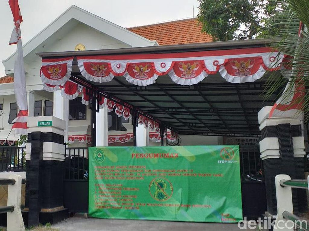27 Pegawai Pengadilan Agama Surabaya Positif COVID-19, Lockdown Diperpanjang