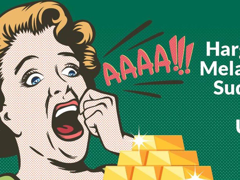 Podcast Tolak Miskin: Harga Emas Melambung, Sudah Siap Sedot Untung?