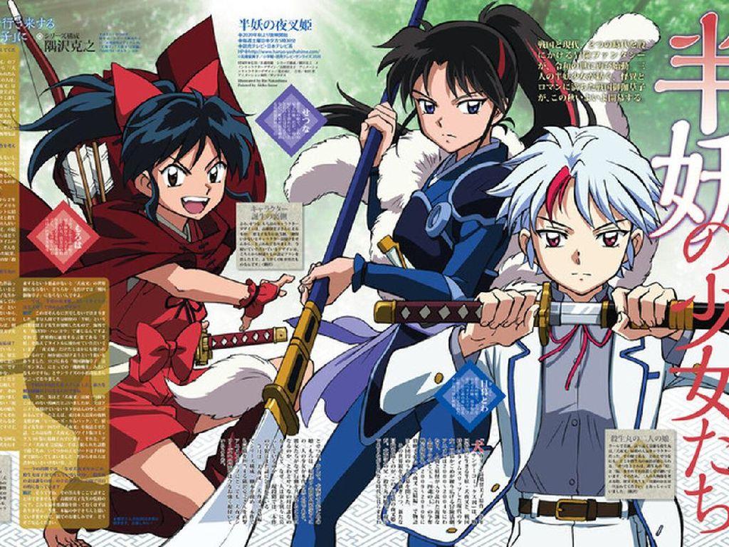 Komikus Inuyasha Memuji Lahirnya Sekuel Yashahime: Princess Half-Demon