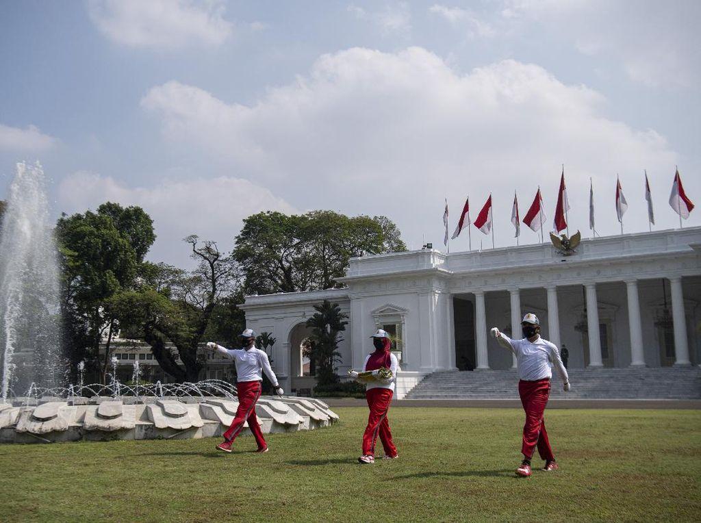 Saksikan Upacara 17 Agustus Secara Virtual Lewat Pandang Istana