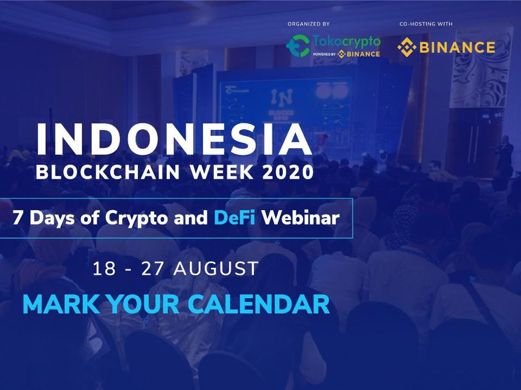 Indonesia Blockchain Week Kembali Digelar