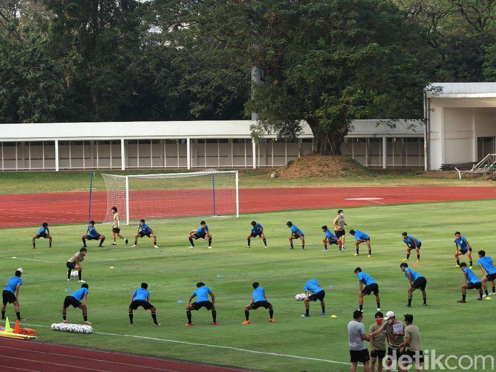 Beckham Lega Timnas Indonesia U-19 Mulai Latihan di Lapangan