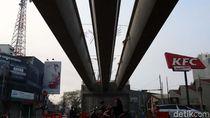 Girder Flyover Jalan Jakarta Terpasang