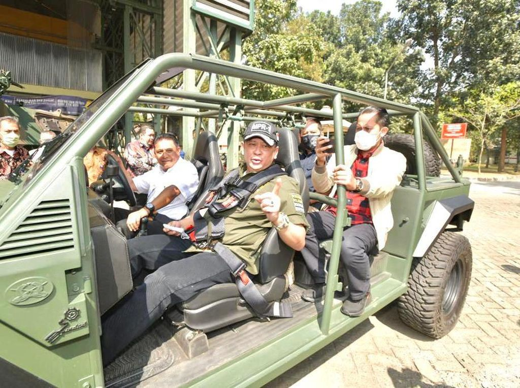 Jajal Rantis Maung, Bamsoet Imbau Industri Pertahanan Diperkuat