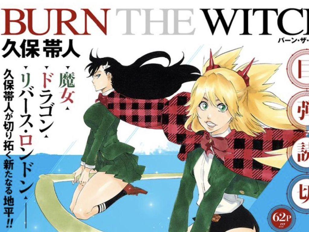 Tite Kubo Putuskan Pensiun, Manga Burn the Witch Tetap Berlanjut
