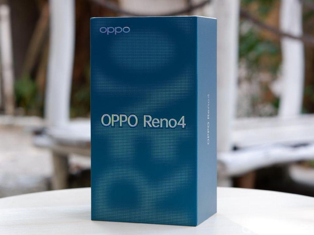 Lebih Dekat dengan Reno4, Ponsel Anyar Oppo Harga Rp 4,999 Juta