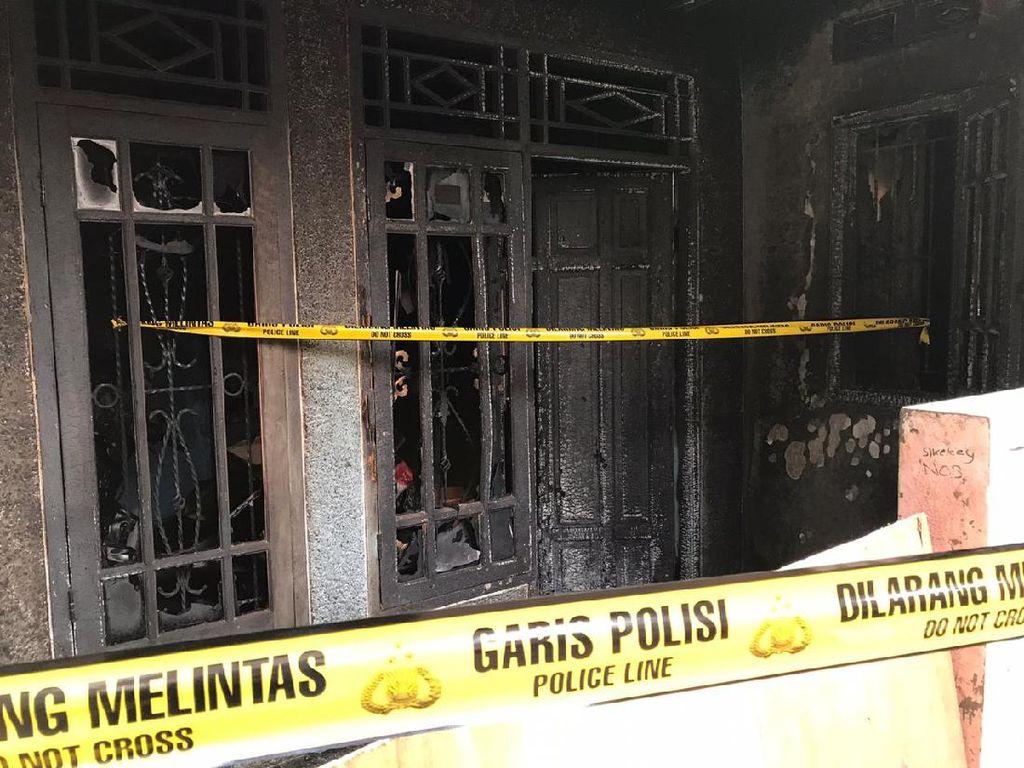 Penampakan Terkini Rumah Sekeluarga yang Dibakar Selingkuhan Istri di Ciputat