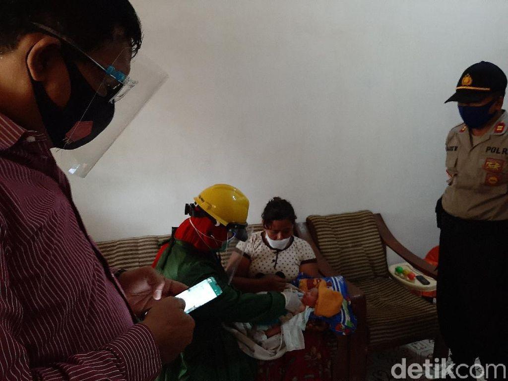 Bayi Masih Hidup Dikerubuti Semut Ditemukan di Gubuk Sawah Probolinggo