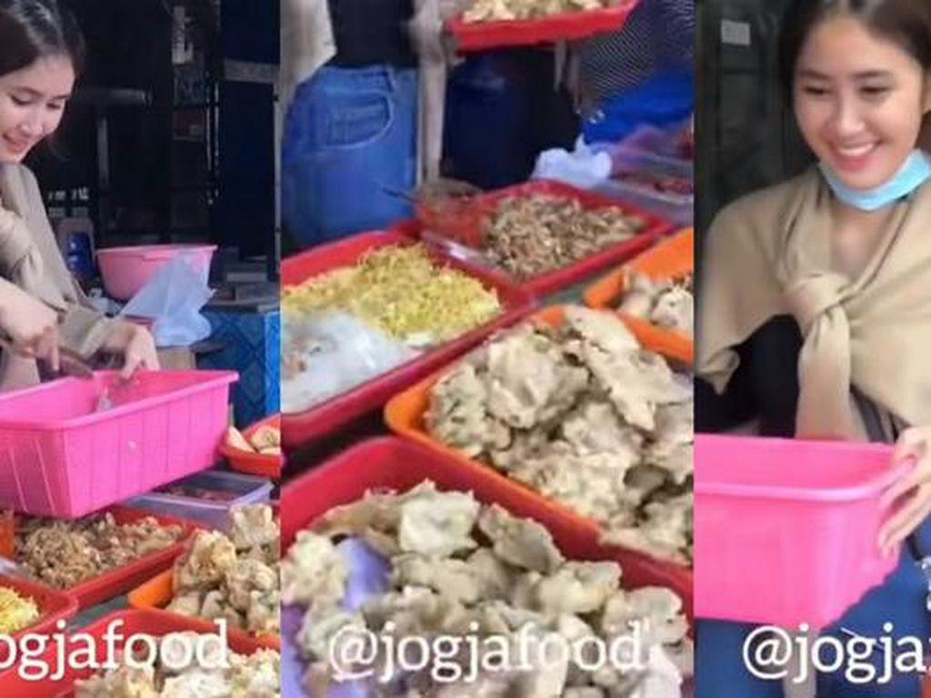Cantiknya Penjual Dawet Ireng hingga Bebek Goreng yang Viral