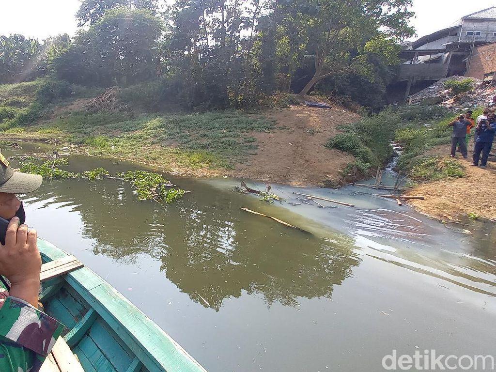 Dansektor 19 Temukan Titik Sumber Pencemaran Citarum di Karawang