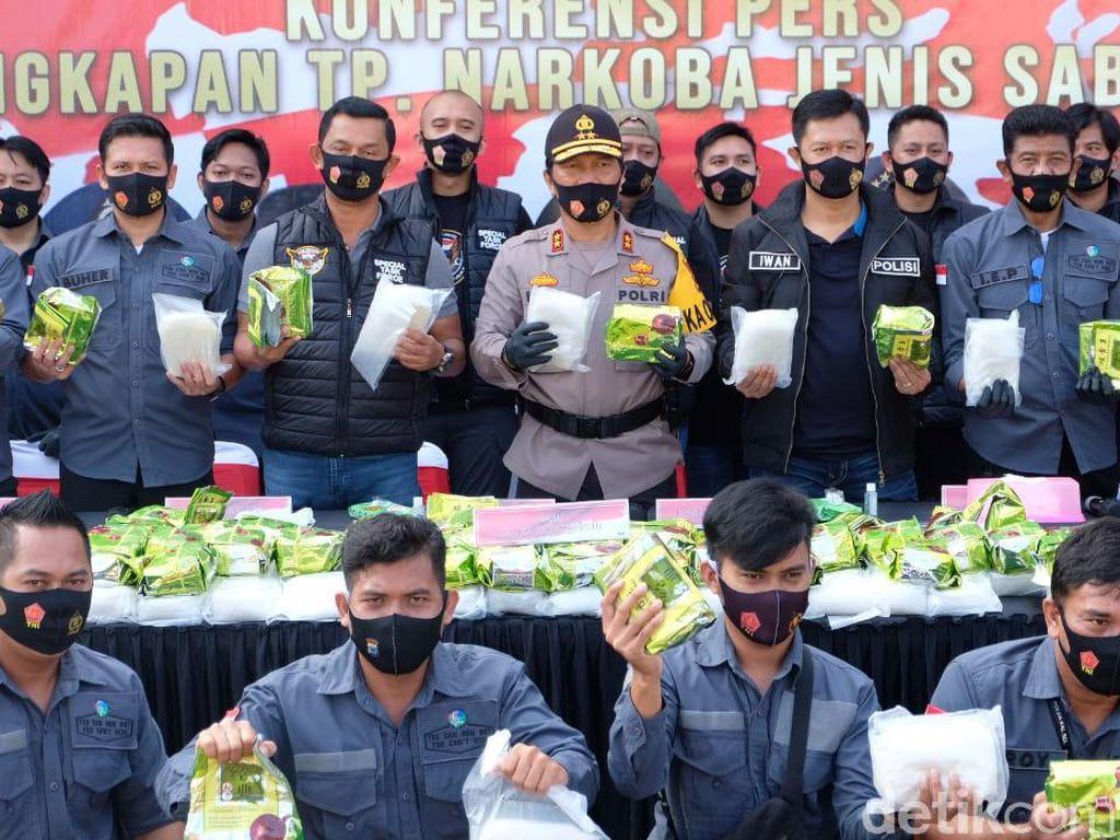 Pengungkapan Sabu Malaysia 300 Kg di Kalsel Pengembangan Kasus Maret Lalu