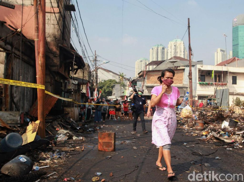 194 Orang Terdampak Akibat Kebakaran Pasar Timbul Tomang, Korban Jiwa Nihil