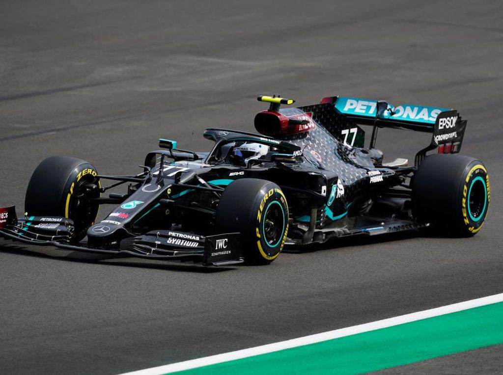 Kualifikasi GP Anniversary: Mercedes Dominan, Bottas Raih Pole