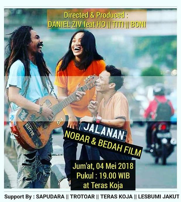 Film Jalanan (2013) berhasil masuk di beberapa festival film internasional.