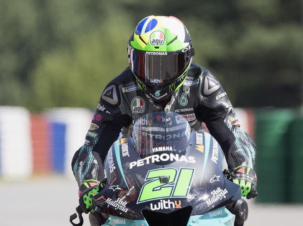 Franco Morbidelli Tercepat di Latihan Bebas III MotoGP Ceko