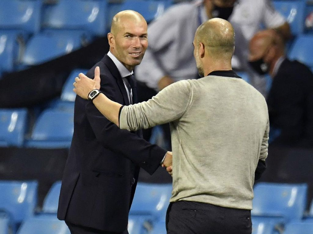 Obrolan Seru Guardiola dan Zidane, Apa yang Dibahas?