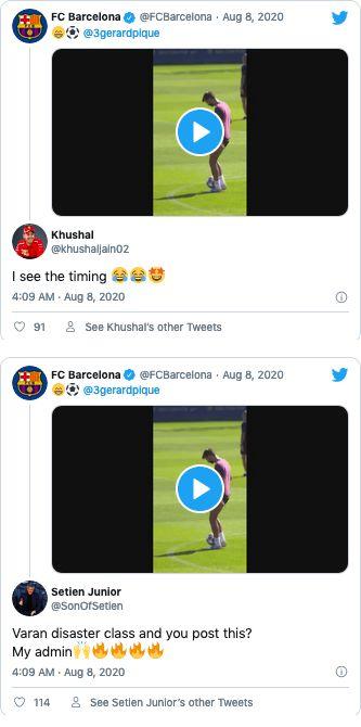 Posting Barcelona